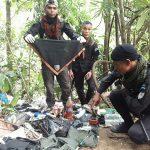 ทหารพรานตรวจยึดอุปกรณ์ยังชีพของโจรใต้บนเทือกเขาในพื้นที่สุไหงปาดี