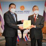 ดร.ซก นักการเมืองรุ่นใหม่ ที่ปรึกษาสมเด็จฮุนเซน เข้าพบ ชวน หลีกภัย กระชับสัมพันธ์ไทย-กัมพูชา